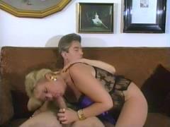 Experienced Blonde Takes a Joy stick