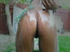 Dripping Wet Black Buttholes 3