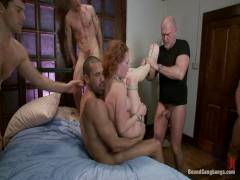 Bound Gangbangs: Audrey Hollander Returns To The Industry