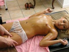 Airi Tachibana is fucked on the massage table